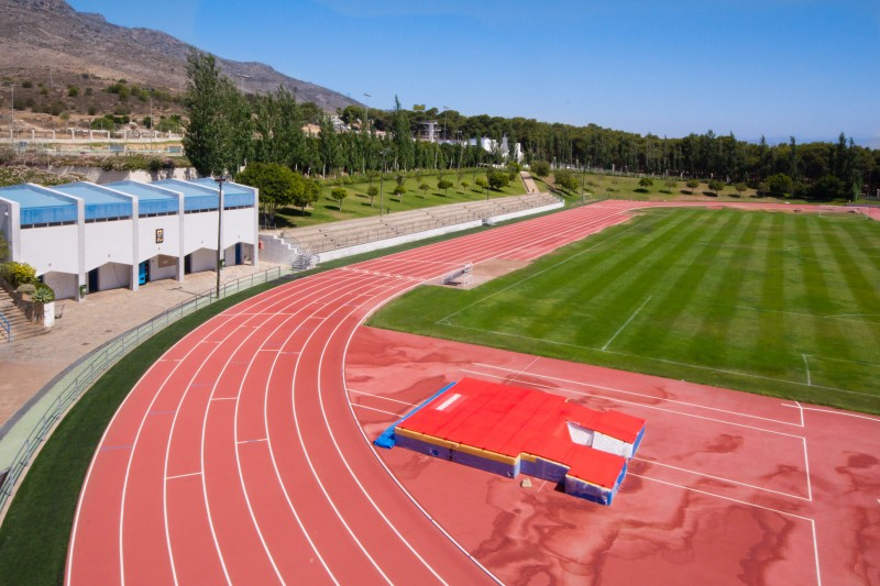 Torremolinos athletics training track field tours for Piscina municipal torremolinos
