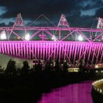 GI - London Olympic Stadium - purple & night sky - cropped