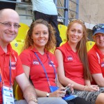 T&F Team in Moscow 2013