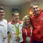 Happy GB Athletes in Prague