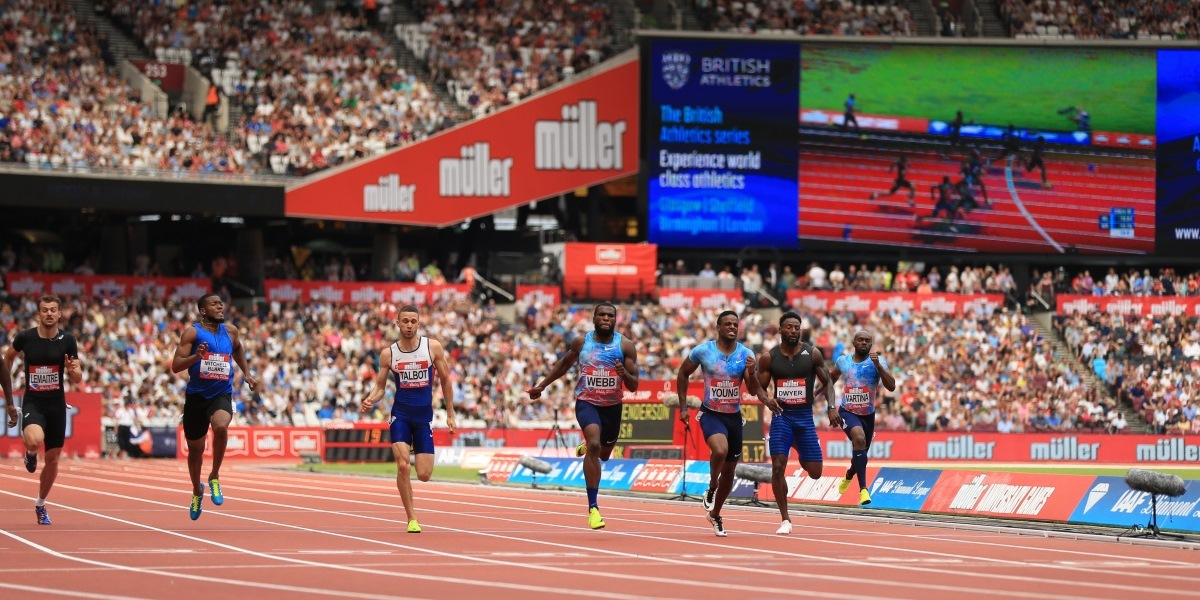 LONDON, ENGLAND - JULY 09:  <> during the Muller Anniversary Games on July 9, 2017 in London, England. (Photo by Stephen Pond - British Athletics/British Athletics via Getty Images) *** Local Caption *** <>