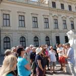 Clients exploring Vienna post Berlin 2018