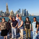 T&FT Fans & Doha Skyine