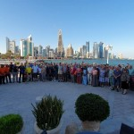 Most of our group in Doha