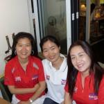 T&FT Korean support staff  - Daegu 2011