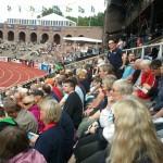 GB fans in Stockholm  stadium