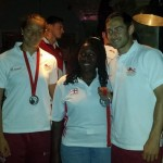 England Athletes at Glasgow Party