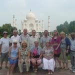 Clients at Taj on Delhi Post Tour 2010