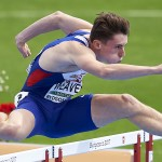 BYDGOSZCZ, POLAND - JULY 14: James Weaver from Great Britain competes in men's 110m hurdles qualification during Day 2 of European Athletics U23 Championships 2017 at Zawisza Stadium on July 14, 2017 in Bydgoszcz, Poland. (Photo by Adam Nurkiewicz/Getty Images for European Athletics)