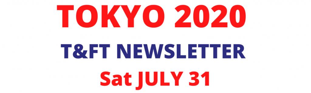 Sat July 31